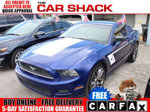 2014 Ford Mustang for sale at The Car Shack in Hialeah FL
