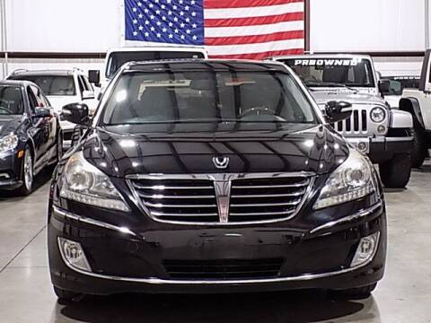 2012 Hyundai Equus for sale at Texas Motor Sport in Houston TX