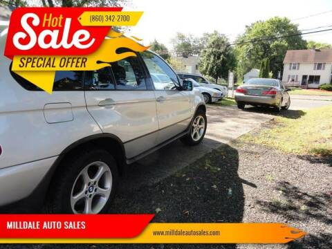2002 BMW X5 for sale at MILLDALE AUTO SALES in Portland CT