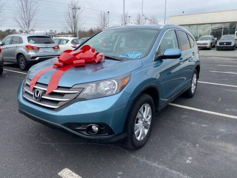 2014 Honda CR-V for sale at Charlotte Auto Group, Inc in Monroe NC