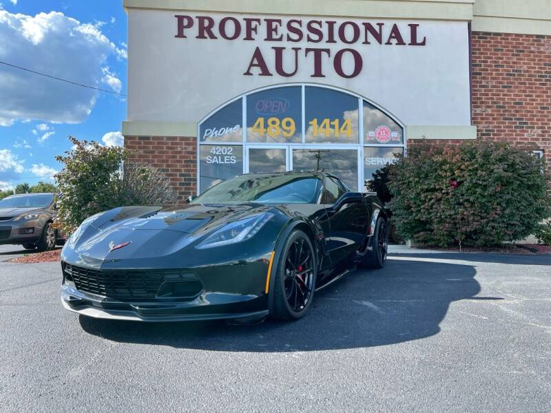 2019 Chevrolet Corvette for sale at Professional Auto Sales & Service in Fort Wayne IN