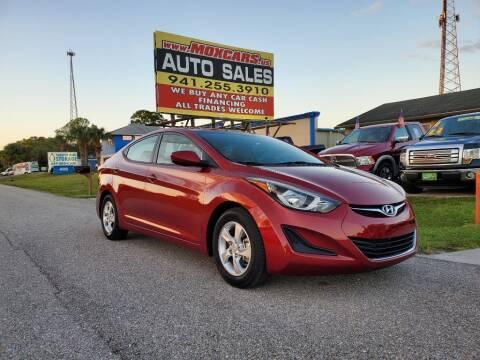 2014 Hyundai Elantra for sale at Mox Motors in Port Charlotte FL