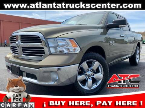 2014 RAM Ram Pickup 1500 for sale at ATLANTA TRUCK CENTER LLC in Brookhaven GA