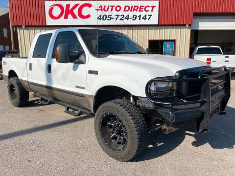 2003 Ford F-250 Super Duty for sale at OKC Auto Direct in Oklahoma City OK