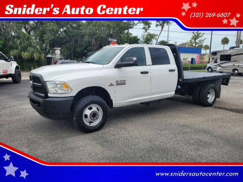 2016 RAM Ram Chassis 3500 for sale at Snider's Auto Center in Titusville FL