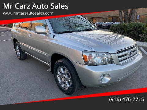 2005 Toyota Highlander for sale at Mr Carz Auto Sales in Sacramento CA