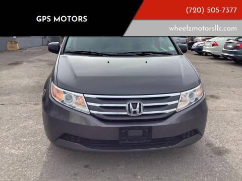 2012 Honda Odyssey for sale at GPS Motors in Denver CO