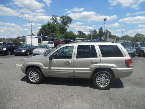 2003 Jeep Grand Cherokee for sale at All Cars and Trucks in Buena NJ