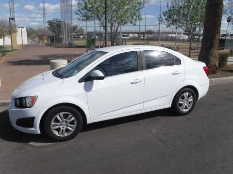 2013 Chevrolet Sonic for sale at J & E Auto Sales in Phoenix AZ