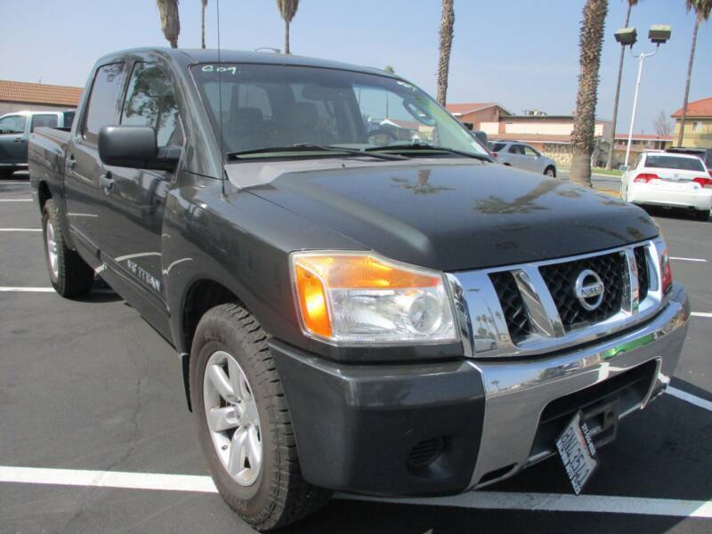 2008 Nissan Titan for sale at F & A Car Sales Inc in Ontario CA