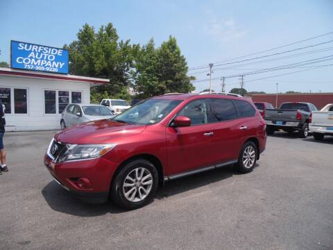 2015 Nissan Pathfinder for sale at Surfside Auto Company in Norfolk VA