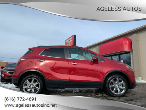 2018 Buick Encore for sale at Ageless Autos in Zeeland MI