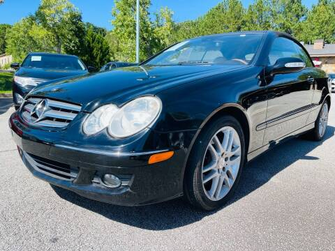 2008 Mercedes-Benz CLK for sale at Classic Luxury Motors in Buford GA