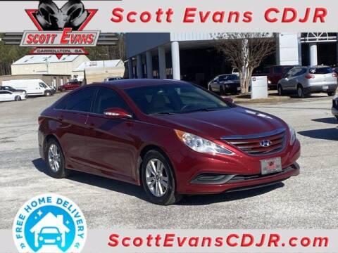 2014 Hyundai Sonata for sale at SCOTT EVANS CHRYSLER DODGE in Carrollton GA