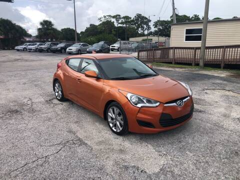 2016 Hyundai Veloster for sale at Friendly Finance Auto Sales in Port Richey FL