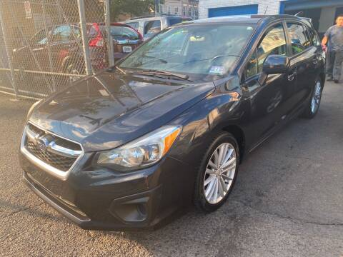 2013 Subaru Impreza for sale at DEALS ON WHEELS in Newark NJ