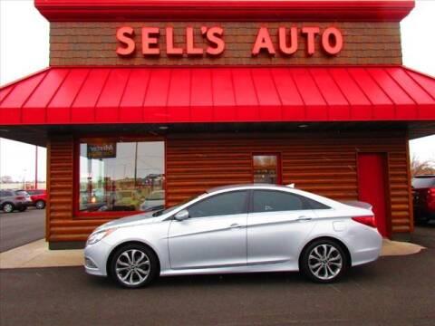 2014 Hyundai Sonata for sale at Sells Auto INC in Saint Cloud MN