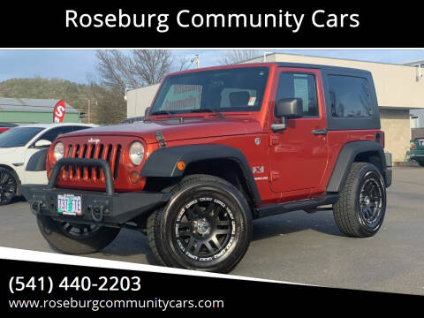 2009 Jeep Wrangler for sale at Roseburg Community Cars in Roseburg OR