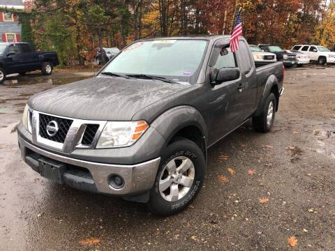 2009 Nissan Frontier for sale at Winner's Circle Auto Sales in Tilton NH