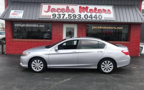 2015 Honda Accord for sale at Jacobs Motors in Huntsville OH