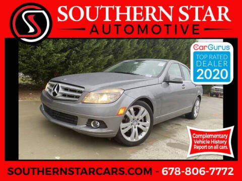 2011 Mercedes-Benz C-Class for sale at Southern Star Automotive, Inc. in Duluth GA
