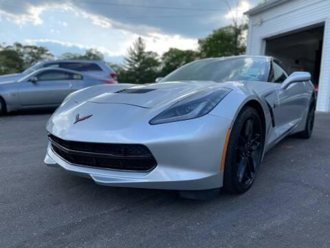 2016 Chevrolet Corvette for sale at SOUTH SHORE AUTO GALLERY, INC. in Abington MA