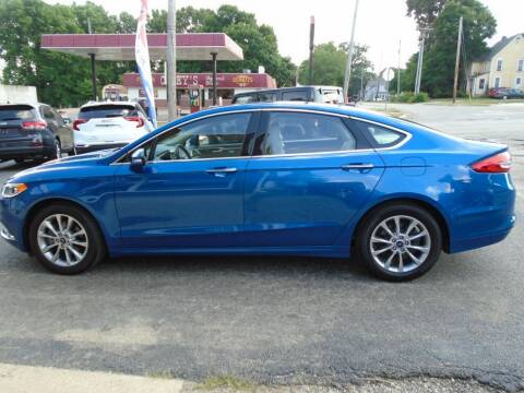 2017 Ford Fusion for sale at Nelson Auto Sales in Toulon IL