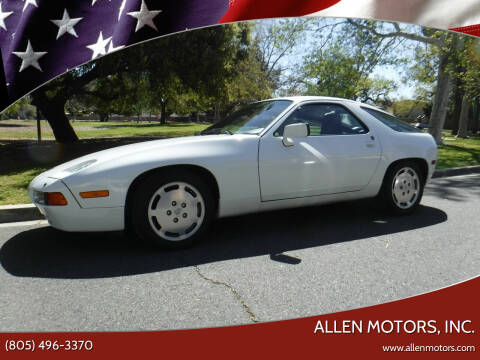 1987 Porsche 928 for sale at Allen Motors, Inc. in Thousand Oaks CA