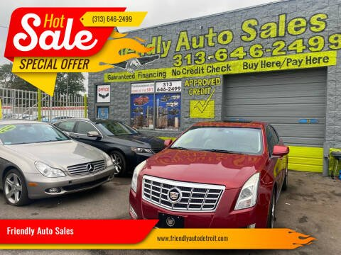 2013 Cadillac XTS for sale at Friendly Auto Sales in Detroit MI