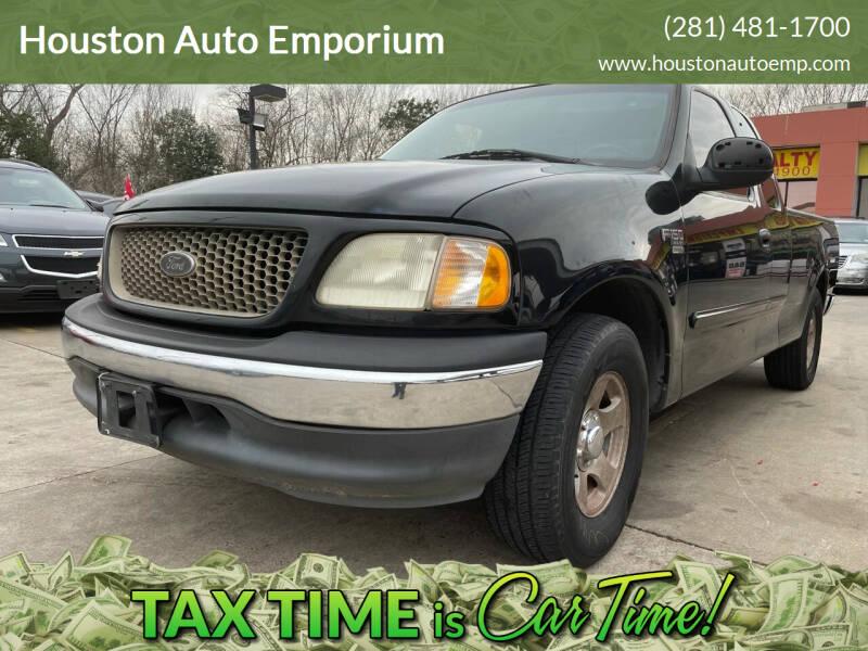 2001 Ford F-150 for sale at Houston Auto Emporium in Houston TX