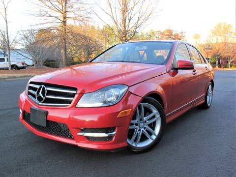 2014 Mercedes-Benz C-Class for sale at Top Rider Motorsports in Marietta GA