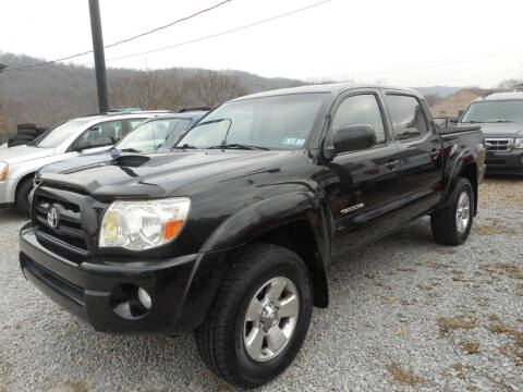 2007 Toyota Tacoma for sale at Sleepy Hollow Motors in New Eagle PA