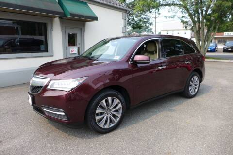 2015 Acura MDX for sale at FBN Auto Sales & Service in Highland Park NJ