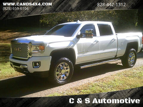 2016 GMC Sierra 2500HD for sale at C & S Automotive in Nebo NC