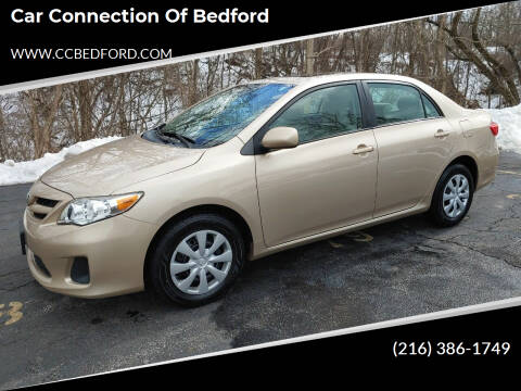 2011 Toyota Corolla for sale at Car Connection of Bedford in Bedford OH