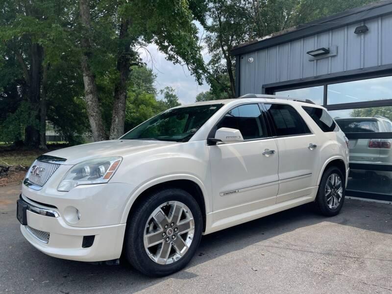 2011 GMC Acadia for sale at Luxury Auto Company in Cornelius NC