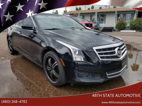 2013 Cadillac ATS for sale at 48TH STATE AUTOMOTIVE in Mesa AZ