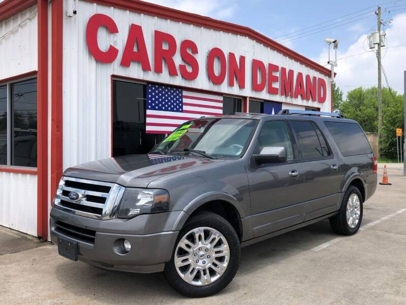 2014 Ford Expedition EL for sale at Cars On Demand 2 in Pasadena TX
