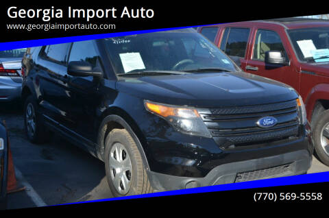 2013 Ford Explorer for sale at Georgia Import Auto in Alpharetta GA
