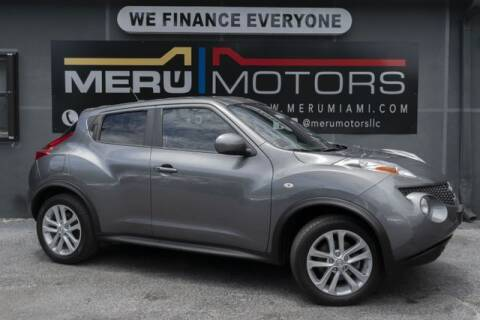 2012 Nissan JUKE for sale at Meru Motors in Hollywood FL