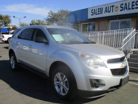 2013 Chevrolet Equinox for sale at Salem Auto Sales in Sacramento CA