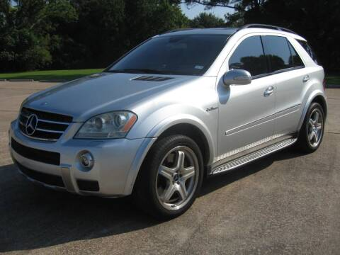 2007 Mercedes-Benz M-Class for sale at JAYCEE IMPORTS in Houston TX