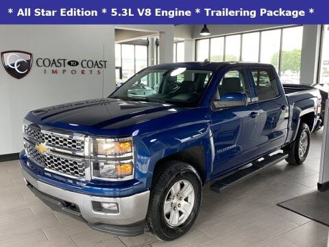 2015 Chevrolet Silverado 1500 for sale at Coast to Coast Imports in Fishers IN