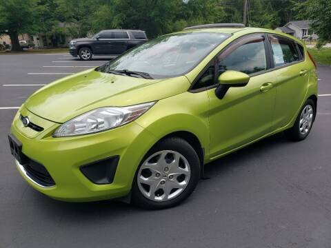2011 Ford Fiesta for sale at Happy Days Auto Sales in Piedmont SC