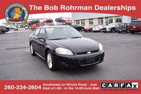 2012 Chevrolet Impala for sale at BOB ROHRMAN FORT WAYNE TOYOTA in Fort Wayne IN