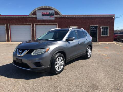 2015 Nissan Rogue for sale at Family Auto Finance OKC LLC in Oklahoma City OK