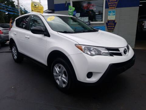 2013 Toyota RAV4 for sale at Fleetwing Auto Sales in Erie PA