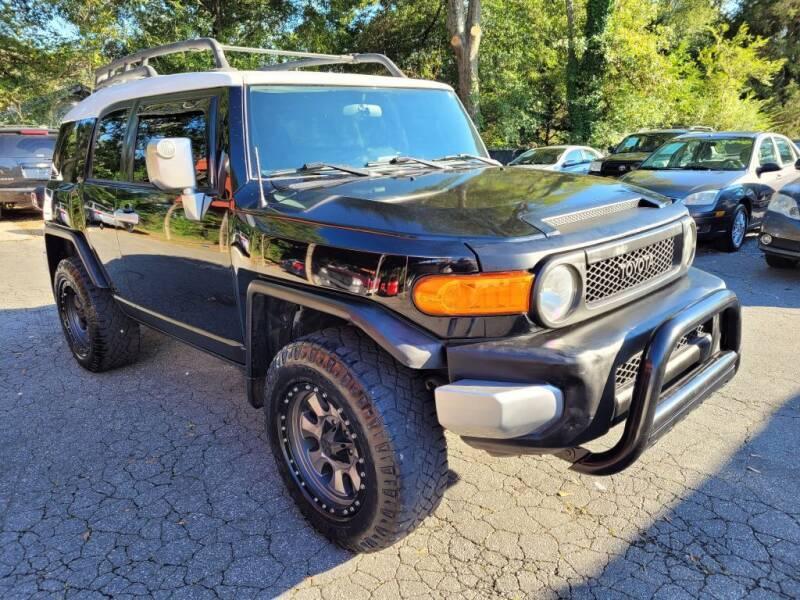 2007 Toyota FJ Cruiser for sale at G & Z Auto Sales LLC in Marietta GA