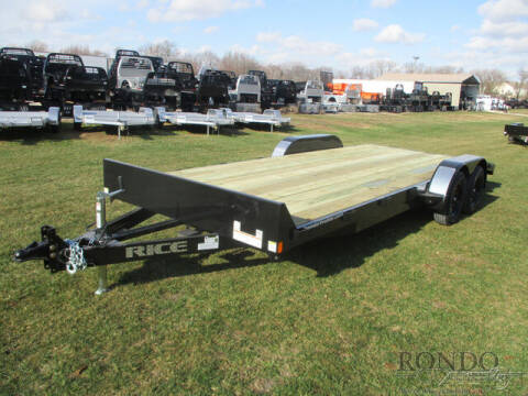 2021 Rice Trailers Car Hauler FMCR8220