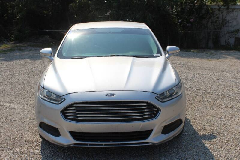 2016 Ford Fusion for sale at Bailey & Sons Motor Co in Lyndon KS